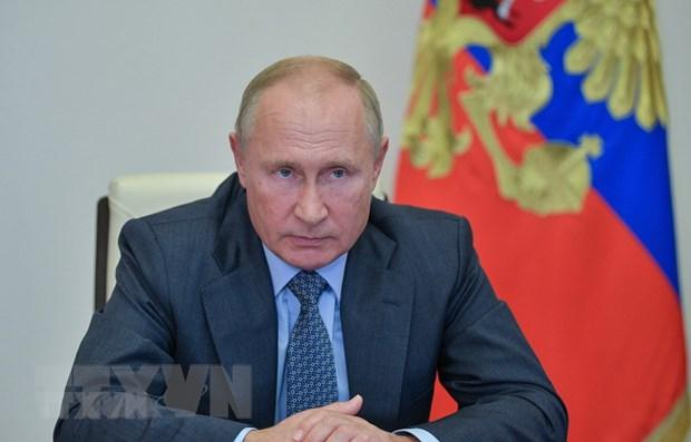 Tong thong Nga Vladimir Putin dua ra cac buoc nham cuu van INF hinh anh 1