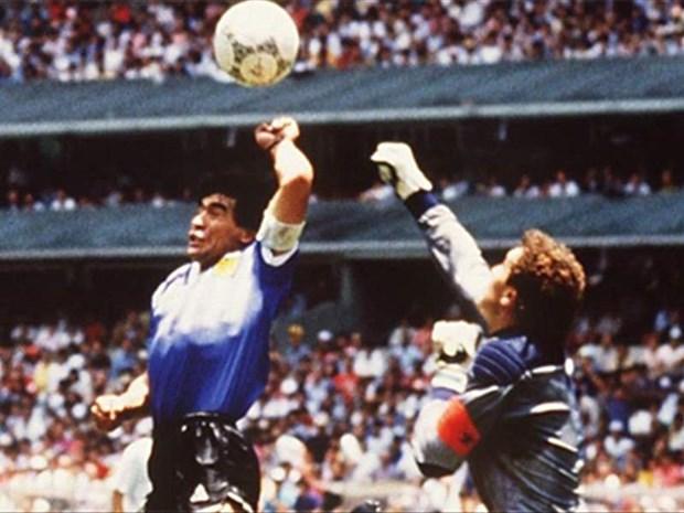 Hai ban thang lich su cua Diego Maradona vao luoi Anh o World Cup 1986 hinh anh 1