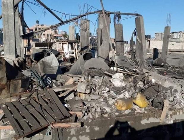 Palestine: No lon lam hon 20 nguoi bi thuong o Dai Gaza hinh anh 1