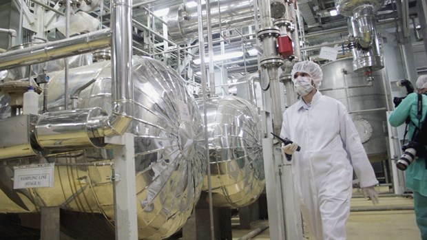 The IAEA announced that Iran started to produce uranium metal type 1