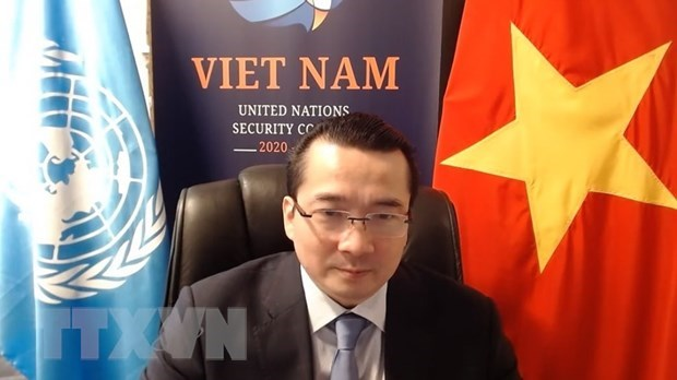Viet Nam is strongly committed to international cooperation with the frame 1