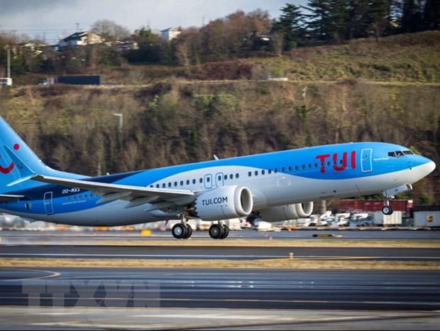 May bay Boeing 737 MAX cat canh tro lai tren bau troi chau Au hinh anh 1