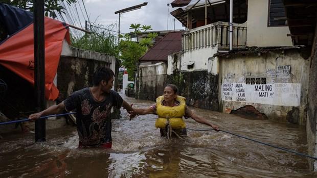 Indonesia: Lu lut khien 5 nguoi thiet mang o thu do Jakarta hinh anh 1