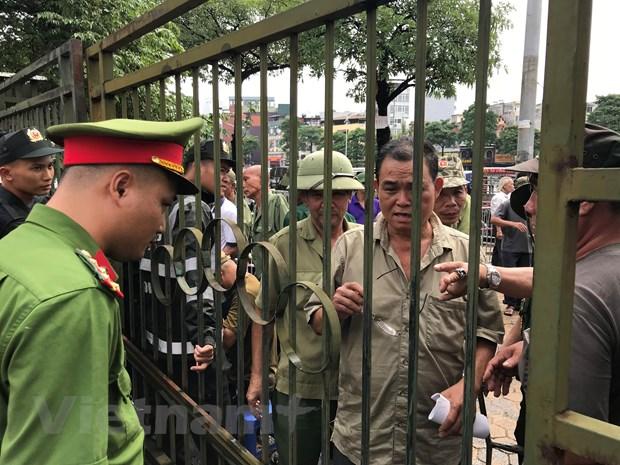 Nhieu thuong binh pha cong tru so VFF doi ve tran Viet Nam-Malaysia hinh anh 2