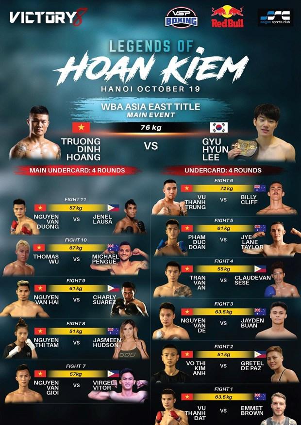 'Nam vuong Boxing Viet' Truong Dinh Hoang so gang voi tay dam Han Quoc hinh anh 1