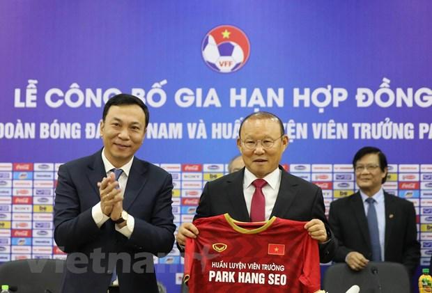 HLV Park Hang-seo chua bi giam luong du VFF bat dau that chat chi tieu hinh anh 1