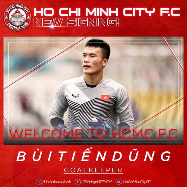 Thu mon Bui Tien Dung chia tay Ha Noi FC, chuyen toi TP.HCM hinh anh 1