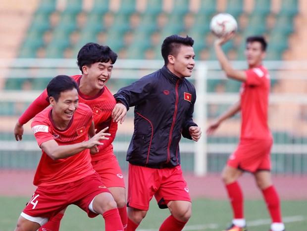 Quang Hai: 'U23 Viet Nam khong tu tao ap luc nang ne o VCK U23 chau A' hinh anh 1