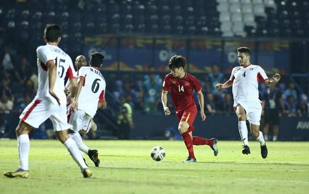 U23 UAE khang dinh quyet thang U23 Jordan, U23 Viet Nam tam yen tam hinh anh 1