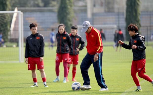 Tuyen nu Viet Nam khong co trung ve tot nhat cho vong play-off Olympic hinh anh 1