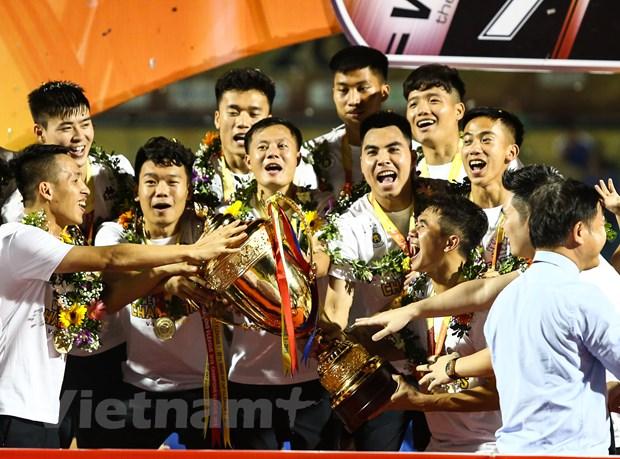 Ha Noi FC muon xuat ngoai nhieu cau thu nhu Van Hau trong tuong lai hinh anh 1