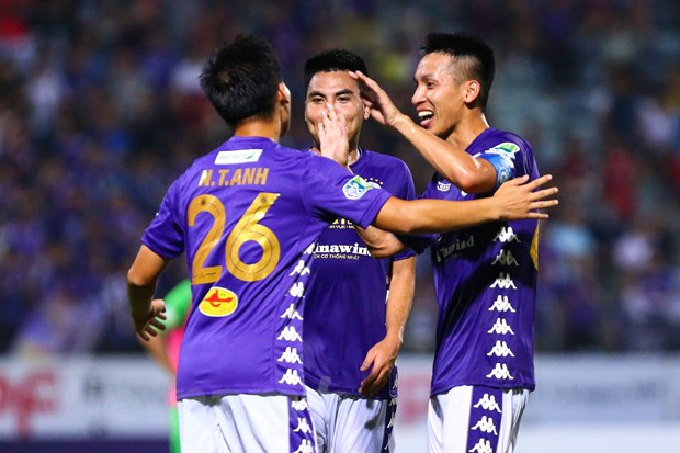 Ha Noi FC muon ha dep Hoang Anh Gia Lai lam ban dap vo dich V-League hinh anh 1