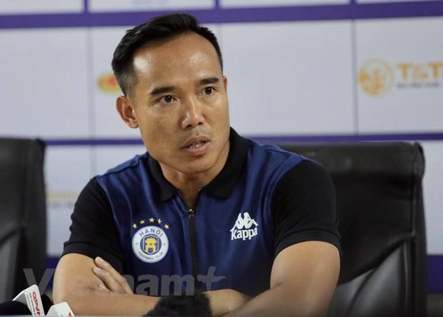 """HLV Ha Noi FC: """"Chung toi chuan bi doi hinh manh nhat doi dau HAGL"""" hinh anh 1"""