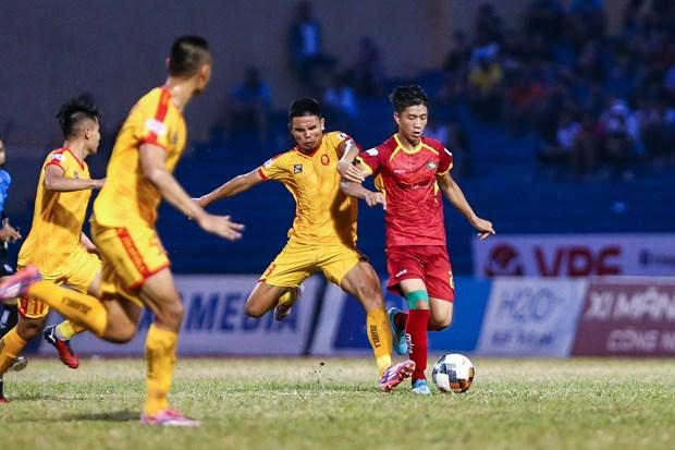 """Ben le V-League 2020: Chuyen """"5 danh 1"""" cua bau Duc trong the thuc moi hinh anh 2"""