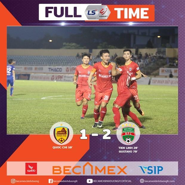 Tien Linh giup Binh Duong thang nguoc, dan dau V-League 2020 hinh anh 1