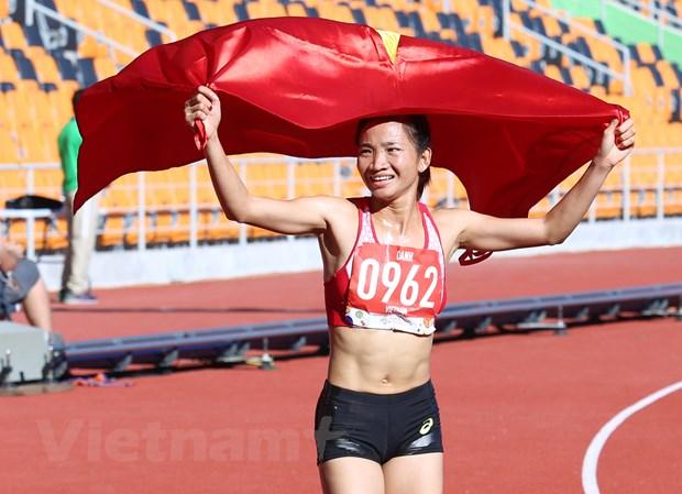 Nhieu nha vo dich SEA Games 30 du giai Tay Ho Half Marathon 2020 hinh anh 1