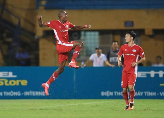 Viettel 4-0 Hai Phong: HLV Truong Viet Hoang vui ngay gap lai doi cu hinh anh 1