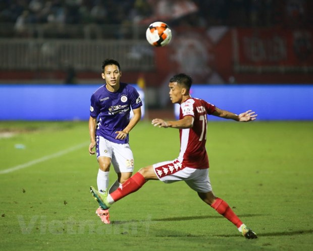 Cong Phuong bi tu choi penalty, TP.HCM thua tan nat truoc Ha Noi FC hinh anh 1