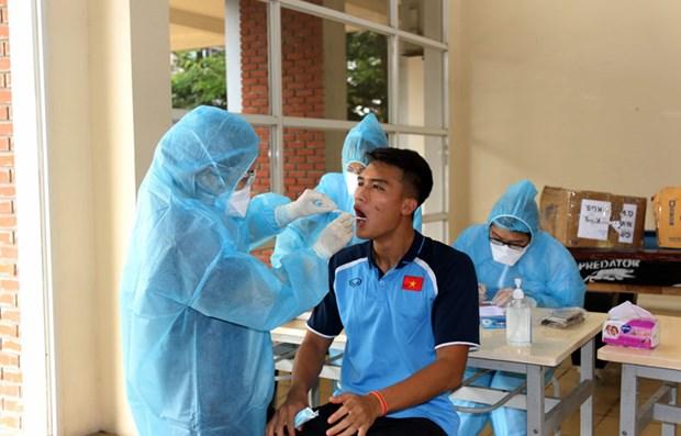 U19 Viet Namam tinh voi SARS-CoV-2, du dieu kien tap luyen khep kin hinh anh 6