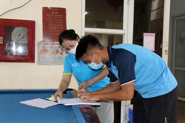 U19 Viet Namam tinh voi SARS-CoV-2, du dieu kien tap luyen khep kin hinh anh 4