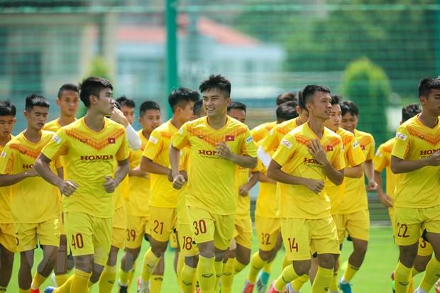 HLV Park Hang-seo cung U21 Viet Nam du dau giai quoc te tai Phap hinh anh 1