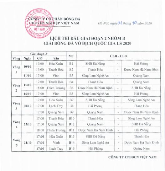 Lich thi dau giai doan hai V-League: Cong Phuong som doi dau Quang Hai hinh anh 4