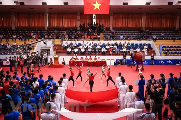 Khai mac Giai bong ban cup Hoi Nha bao Viet Nam nam 2020 tai Ha Noi hinh anh 1