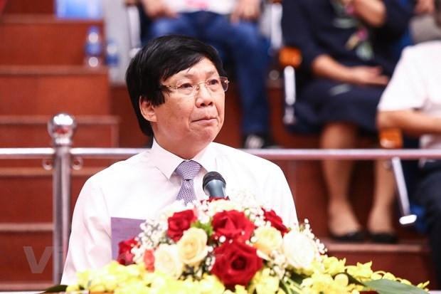Khai mac Giai bong ban cup Hoi Nha bao Viet Nam nam 2020 tai Ha Noi hinh anh 3