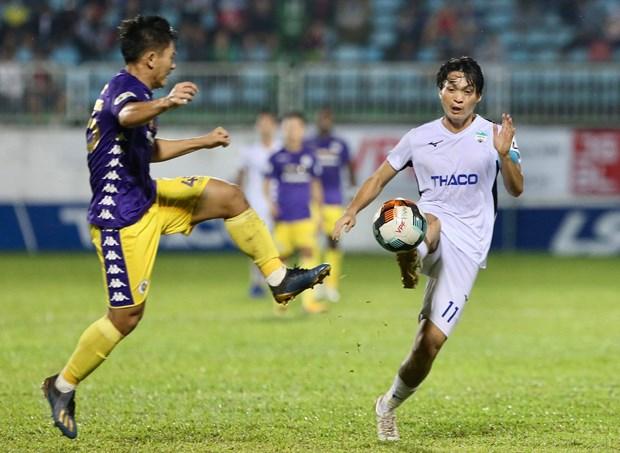 HLV HAGL phan nan trong tai sau tran thua dam Ha Noi FC tren san nha hinh anh 2