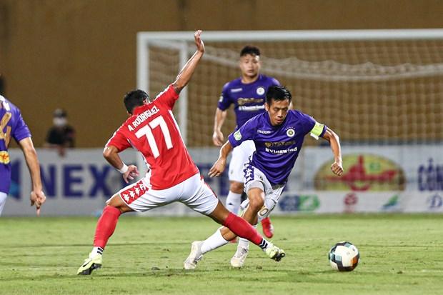 Ha Noi FC loi the nhat trong nhom 'tu ma' dua vo dich V-League 2020 hinh anh 1