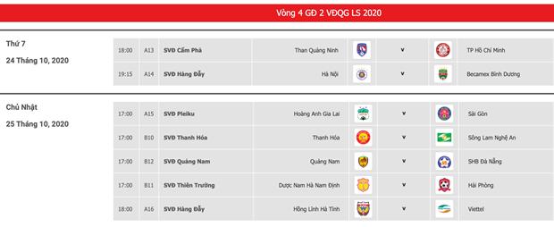 V-League: Doi san thi dau tran Ha Tinh-Viettel vi mua lu o mien Trung hinh anh 2