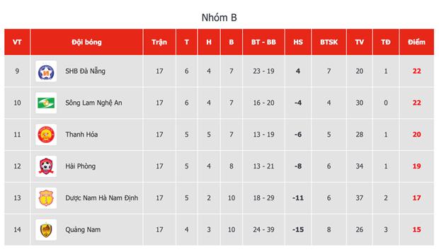 Ket qua V-League: Quang Nam nhen nhom tru hang, HAGL thua dam Sai Gon hinh anh 6
