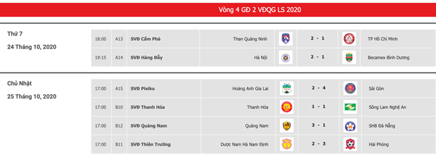 Ket qua V-League: Quang Nam nhen nhom tru hang, HAGL thua dam Sai Gon hinh anh 4
