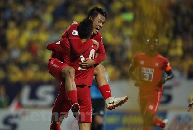 Ket qua V-League: Quang Nam nhen nhom tru hang, HAGL thua dam Sai Gon hinh anh 2