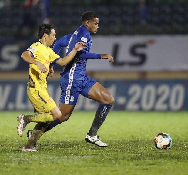 Ket qua V-League: Quang Nam nhen nhom tru hang, HAGL thua dam Sai Gon hinh anh 1