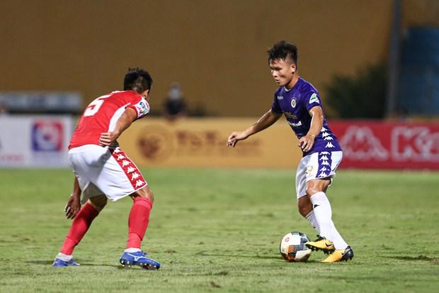 Cuoc dua vo dich V-League: Ha Noi FC va menh lenh phai thang Sai Gon hinh anh 1