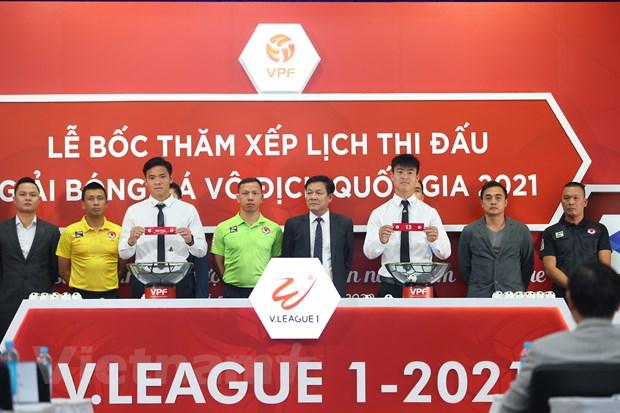 V-League 2021 mo man hap dan, khong hoan them vi dich COVID-19 hinh anh 2