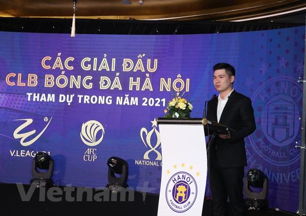 Ha Noi FC dat muc tieu 'thau tom' toan bo danh hieu o mua giai 2021 hinh anh 1