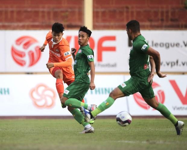 V-League 2021: Binh Dinh va Hai Phong gianh chien thang thuyet phuc hinh anh 2