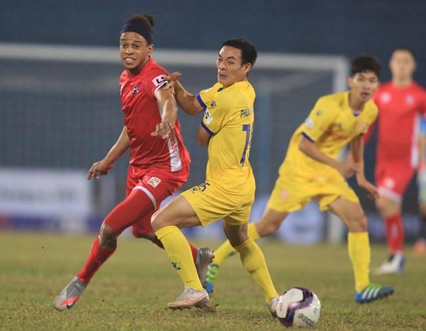 V-League 2021: Binh Dinh va Hai Phong gianh chien thang thuyet phuc hinh anh 1