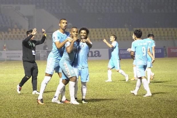 Ket qua V-League 2021: Da Nang tiep tuc thang, Viettel bi cam hoa hinh anh 2