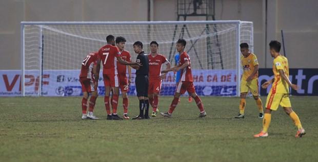 Ket qua V-League 2021: Da Nang tiep tuc thang, Viettel bi cam hoa hinh anh 1