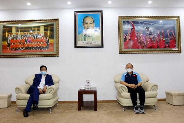 HLV Park Hang-seo hua hoan thanh muc tieu o vong loai World Cup 2022 hinh anh 2