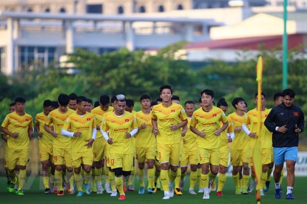 Tuyen Viet Nam dat muc tieu 6 diem o 3 tran vong loai World Cup 2022 hinh anh 1