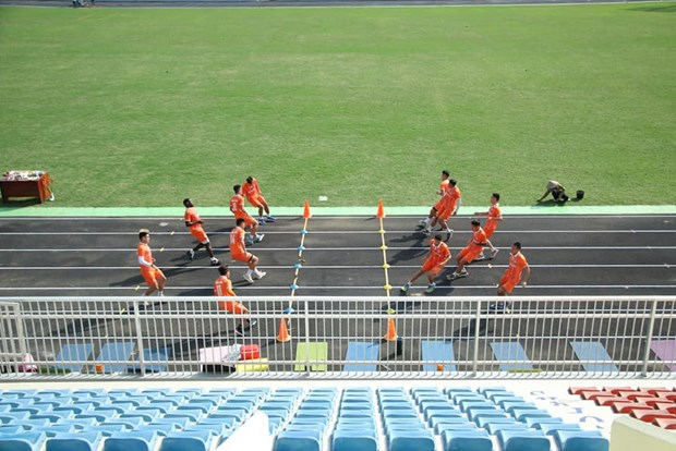 V-League 2021: Nhieu san thi dau kip tu sua, san sang cho ngay tro lai hinh anh 2