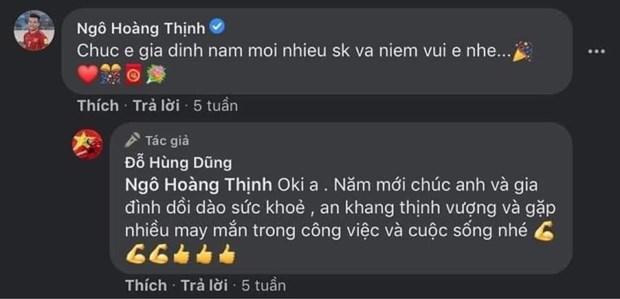 Truoc pha bong tho bao, Hoang Thinh va Hung Dung co moi quan he tot hinh anh 2