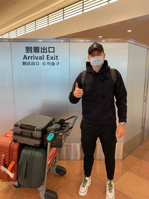Dang Van Lam co mat tai Nhat Ban, san sang ra mat CLB Cerezo Osaka hinh anh 1