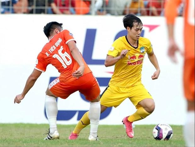 Van Toan va Cong Phuong toa sang, HAGL giu vung ngoi dau bang V-League hinh anh 1