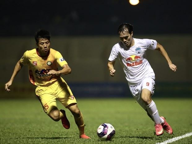 Hoang Anh Gia Lai thang tran thu 7 lien tiep, thong tri V-League 2021 hinh anh 1
