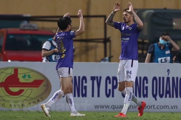 HLV Han Quoc chua hai long ve Ha Noi FC sau chien thang quan trong hinh anh 1